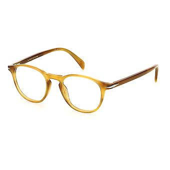 David Beckham DB1018 EX4 gafas de cuerno marrón