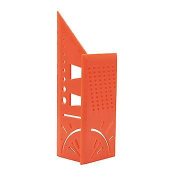 3d Angle Mesurant l'outil carré de règle de scribe de menuiserie avec la règle de jauge