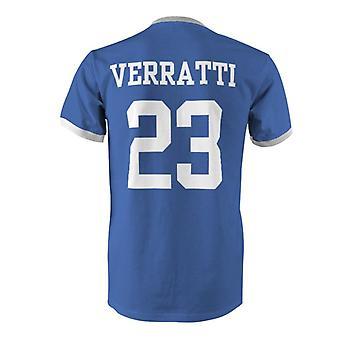 ماركو فراتي 23 إيطاليا بلد المسابقة تي شيرت