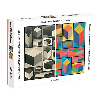 Moma Sol Lewitt 500 Piece 2Sided Puzzle by Sarah McMenemy