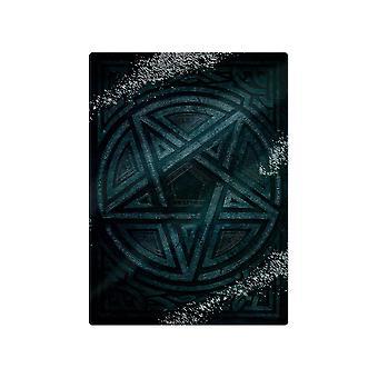 Grindstore Gothic Glass Pentagram Chopping Board