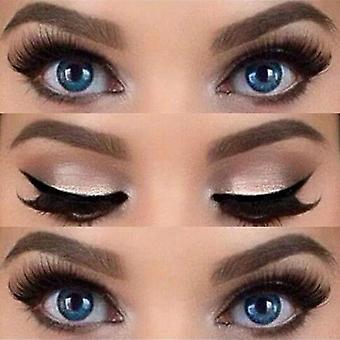 Pro Eyeliner, Stencils Shaping, Øjenbryn Skabelon Card, Eye Shadow, Makeup Tool