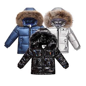 Módne zimné kabát dole bunda pre 2-8 Y