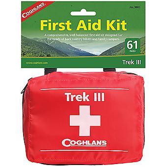 Coghlan's Trek III First Aid Kit, 61 Pieces, Hiking Camping Set