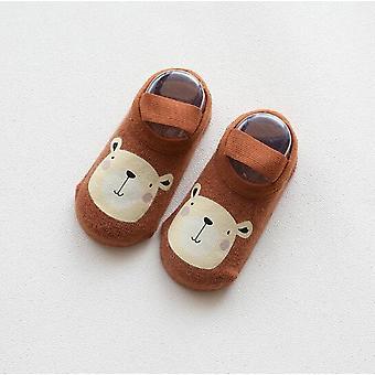 Vauvan huone sukat muoti sarjakuva tulostus liima 's liukumaton taapero kengät