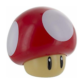 Super Mario, lámpara con sonido - Champiñones