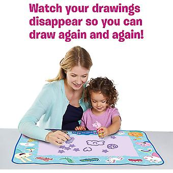 AquaDoodle T72034 Doodle, Official Tomy No Mess Colouring & Drawing Game Kids' Colouring
