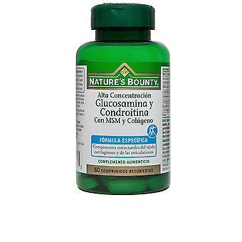 Nature's Bounty N's B-gluco.y Condro.+msm Y Colágeno 60 Cápsulas Unisex