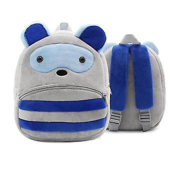 Pesukarhu lapset'vauvan pehmon lelu pieni koululaukku reppu sarjakuva laukku