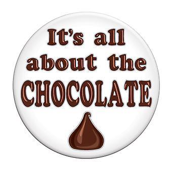 It'S Alles über die Schokolade Button (Packung mit 12)