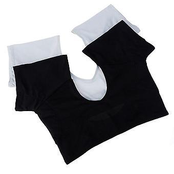Frauen T-shirt wiederverwendbare waschbare Unterarm Achselzuschung Sweat Pads Parfüm absorbieren