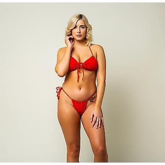 Açaí Bikini Bottom - Cherry Red