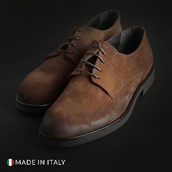 Duca di morrone - 058_camoscio - calzado hombre