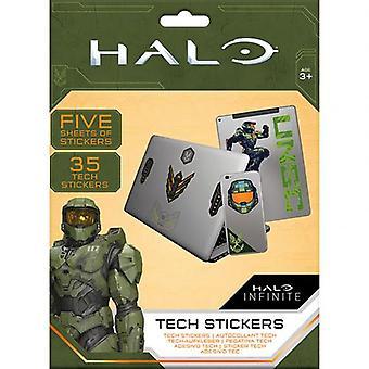 Naklejki Halo Tech