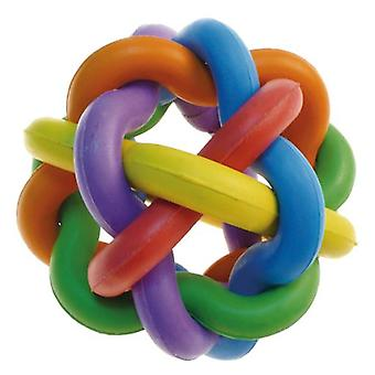 Arquivet Rubber Ball with Knots (7 Cm) (Dogs , Toys & Sport , Balls)