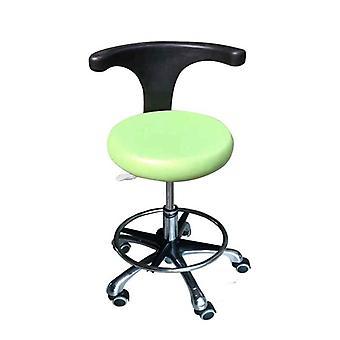 Cadeira de banco assistente de couro do banco de rotação do dentista Pu