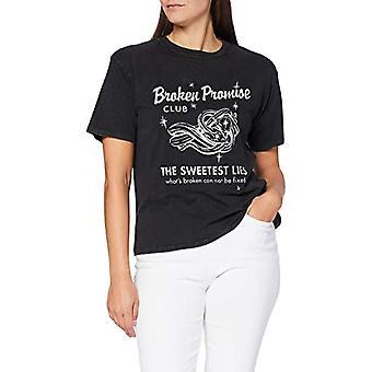 REPLAY W3307d.000.22658m T-Shirt, 099 Blackboard, XL Woman