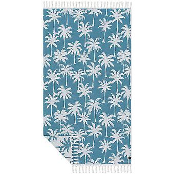 Slowtide Loreto Beach Towel in Dusty Blue
