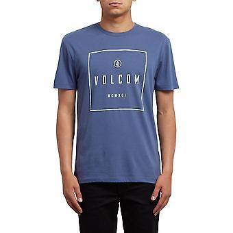 Volcom Scribe Lyhythihainen T-paita syvän sininen