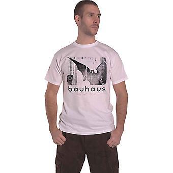 Bauhaus T Shirt Bela Lugosis Dead Single Band Logo new Official Mens White