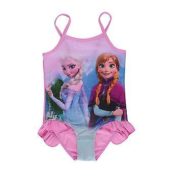 Badedragt kvinders is og sne trykt slynge konservative piges ét stykke badetøj