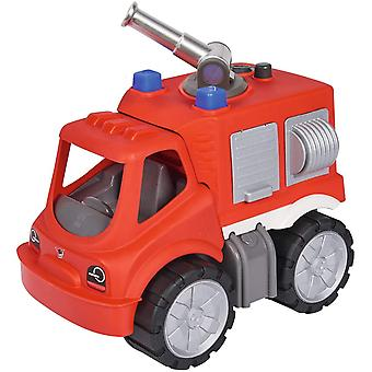 - Power-Worker Feuerwehr Löschwagen - Großes Spielzeug Auto mit Wasserspritze, Reifen aus