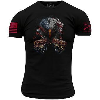 Grunt Style Eagle Fck Yeah T-Shirt - Black