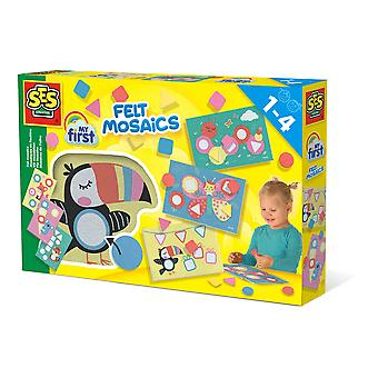 SES Creative - Children's My First Felt Mosaics Set (Multi-colour)