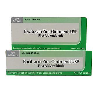 Actavis Bacitracin Zinc Ointment, 1 Oz