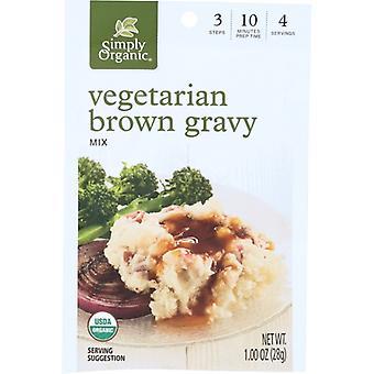 Simply Organic Mix Gravy Brwn Vegtbl, Case of 12 X 1 Oz