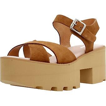 Gele sandalen Genova kleur Sermuscade