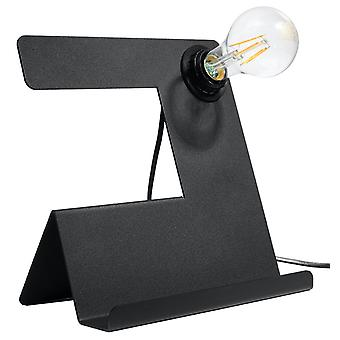 Sollux INCLINE SL.0669 Tafellamp Zwart E27
