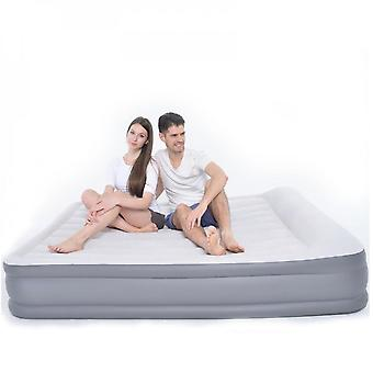 Mimigo Inflatable Mattress Household Double Air Cushion Bed Thickened Lazy Inflatable Outdoor Portable Air Cushion Lunch Break Folding Bed, Does Not I
