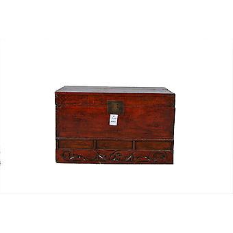 Fine Asianliving Antique Storage Box avec détails - Shandong, Chine