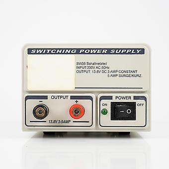 PNI ST1921 spanningsbron, 230V AC ingang, 12V DC uitgang, 3A