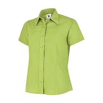 Uneek Ladies Poplin Half Sleeve Shirt UC712
