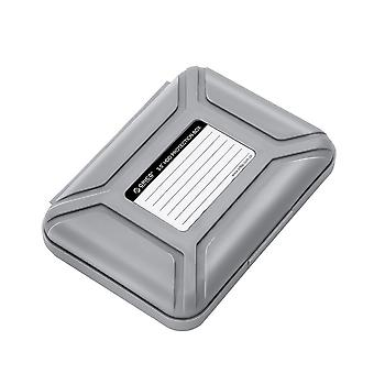 3.5 inch External Hard Drive HDD Protection Storage Box with Label Water Repellent Shockproof