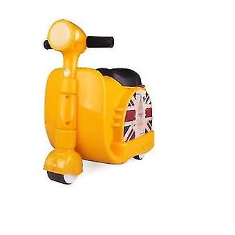 Scooter Bagage motorcykel resväska ride och baby trunk trolley väska