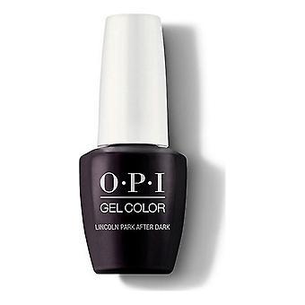 nail polish Lincoln Park After Dark Opi Black (15 ml)