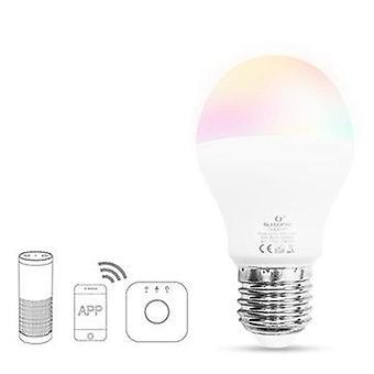 Gledopto zig.bee gl-b-007z ac100-240v e27 6w rgbww smart led light bulb compatible with philips hue