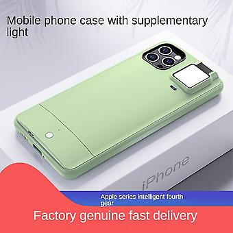Iphone11 Flashing Phone Case With Selfie Led Ring Flashing Apple Protective Cover