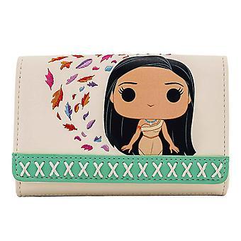 Loungefly Purse Pocahontas Meeko Earth Day ny officiell Disney White