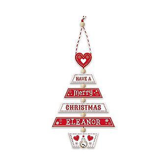 Geschiedenis & Heraldiek Kerstboom decoratie - Eleanor 269800250 houten handgemaakte