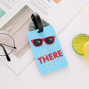 Creative Luggage Tag, Silicone Suitcase Id Address Holder Baggage Boarding Tags