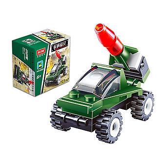 消防車の建物ブロック幼児教育おもちゃプラスチックおもちゃ20023