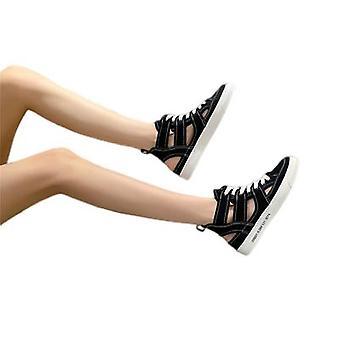 قماش الجوف الصنادل المرأة جميع المباراة أحذية