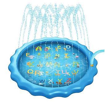 3-en-1 Splash Pad, 67in arroseur gonflable pour les enfants et piscine pour tout-petits pour l'apprentissage