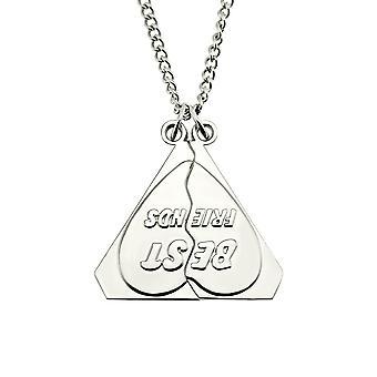 Triangle Shape Long Necklace Pendant Diamond Sweater Chain,70cm,silver