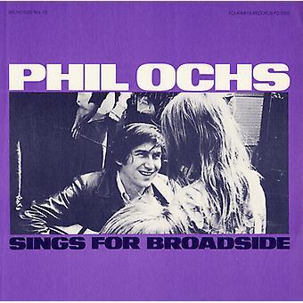 Phil Ochs - Vol. 10-bredsida ballader Phil Ochs sjunger för Broa [CD] USA import