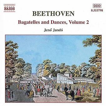 L.V. Beethoven - Beethoven: Bagatelles and Dances, Vol. 2 [CD] USA import